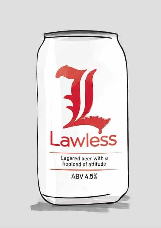 Lawless Lager by Purity Brewing Co.