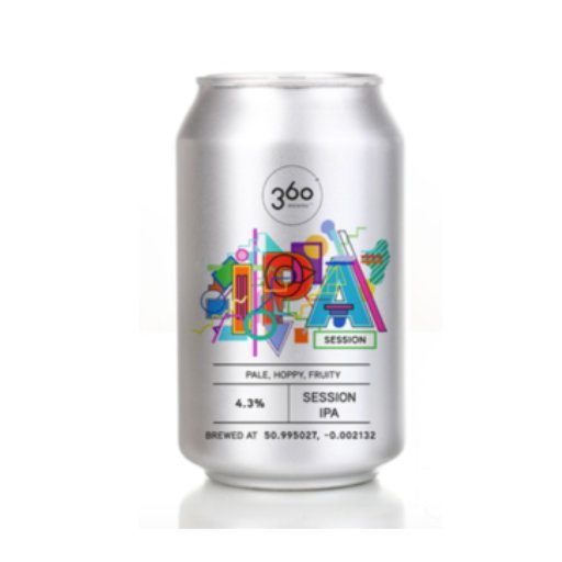Session IPA By 360 Degree Brewing Co