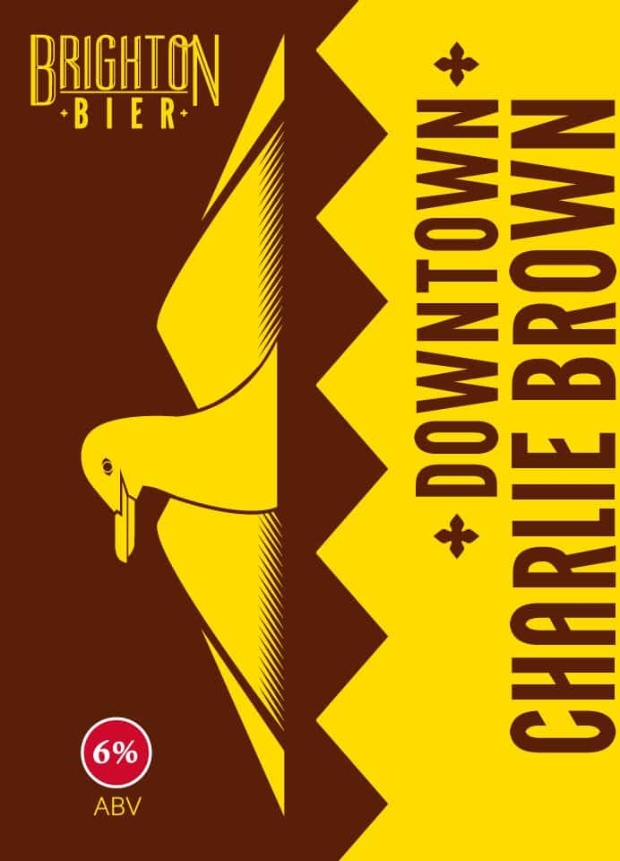 American Brown Stout Downtown Charlie Brown By Brighton Bier