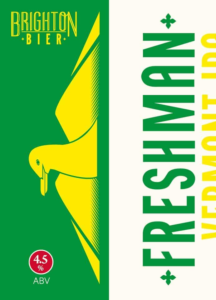 Freshman Vermont IPA By Brighton Bier