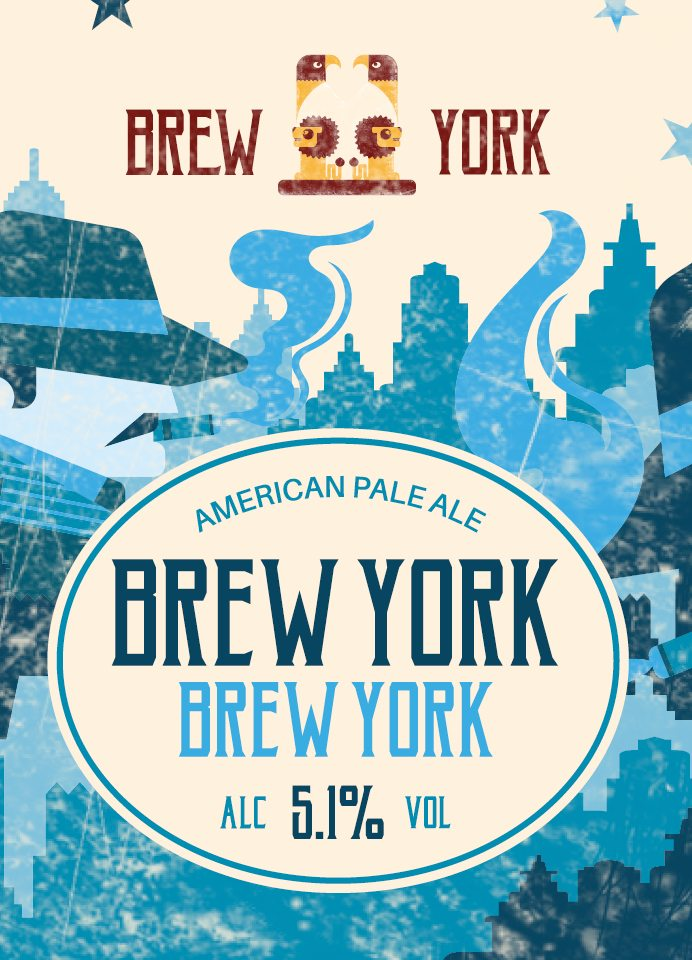 Brew York American Pale Ale by Brew York - Craft Can Directory