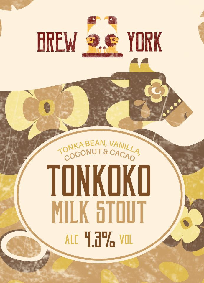 Tonkoko Milk Stout by Brew York - Craft Can Directory