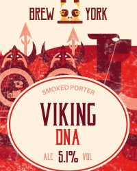 Viking DNA Smoked Porter by Brew York - Craft Can Directory