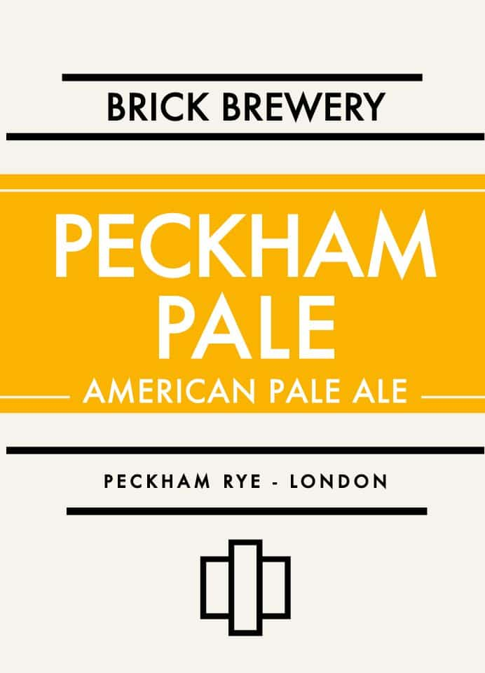 Brick Brewery Peckham Pale