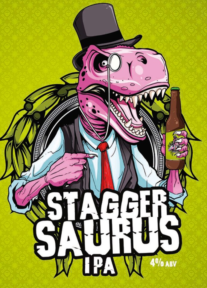 Stagger Saurus Post Impact Porder By Staggeringly Good Brewery