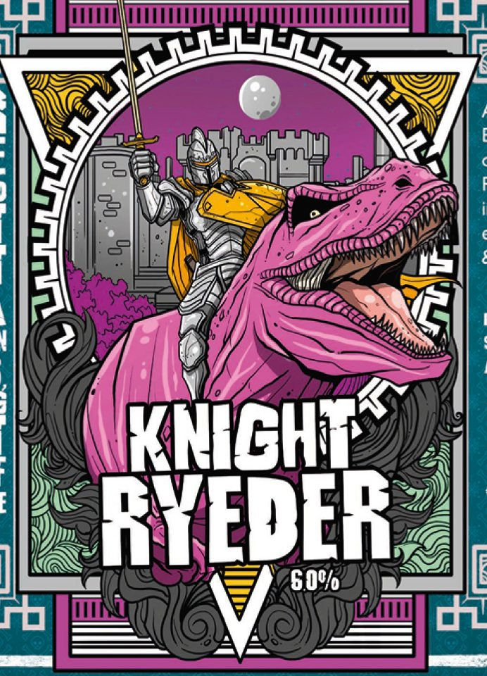 Knight Ryeder By Staggeringly Good Brewery