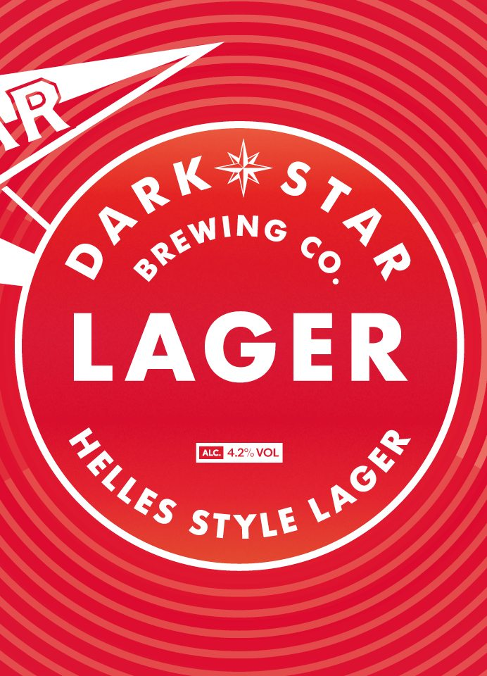 Dark Star Lager by Dark Star Brewery