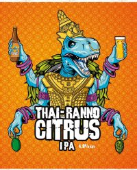 Thai Ranno Citrus IPA By Staggeringly Good Brewery