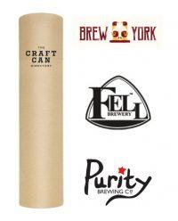 Tubular IPA Craft Beer Gift Tube