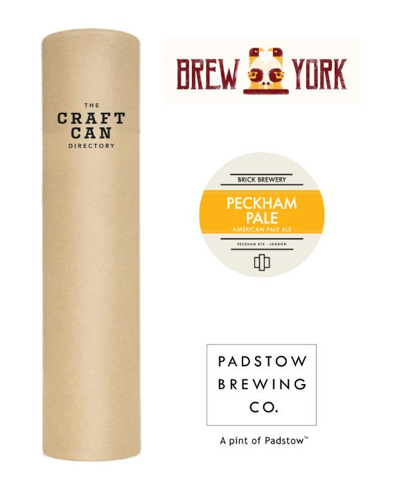 Tubular Pale Ale Craft Beer Gift Tube