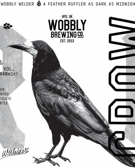 Crow Stout Wobbly Brewing Co