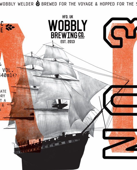No.3 IPA Wobbly Brewing Co