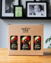 Original Birthday Brew Craft Beer X Ml Cans ( )