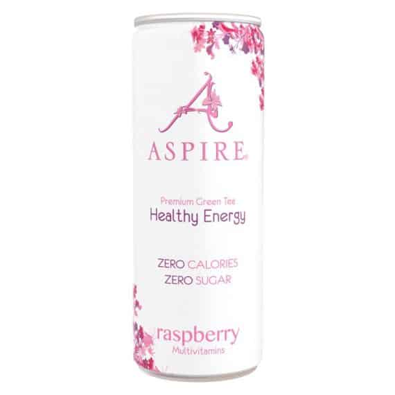 Aspire Raspberry Healthy Energy Drink Zero Calories Zero Sugar X Ml
